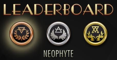 Neophyte leaderboard Embedded image permalink