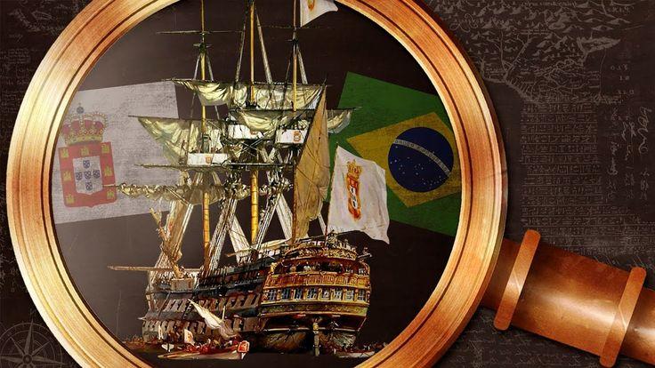 Liked on YouTube: A chegada da família real no Brasil | Nerdologia 298