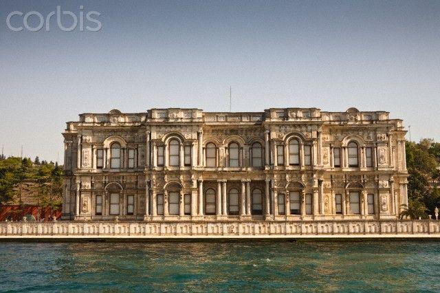 BEYLERBEYI PALACE: was built by (Armenian Architects)Balyan Family in Baroque-style for Sultan Abdulmecit, between 1861-1865, in Istanbul. Beylerbeyi Palace, Uskudar, Istanbul, Turkey