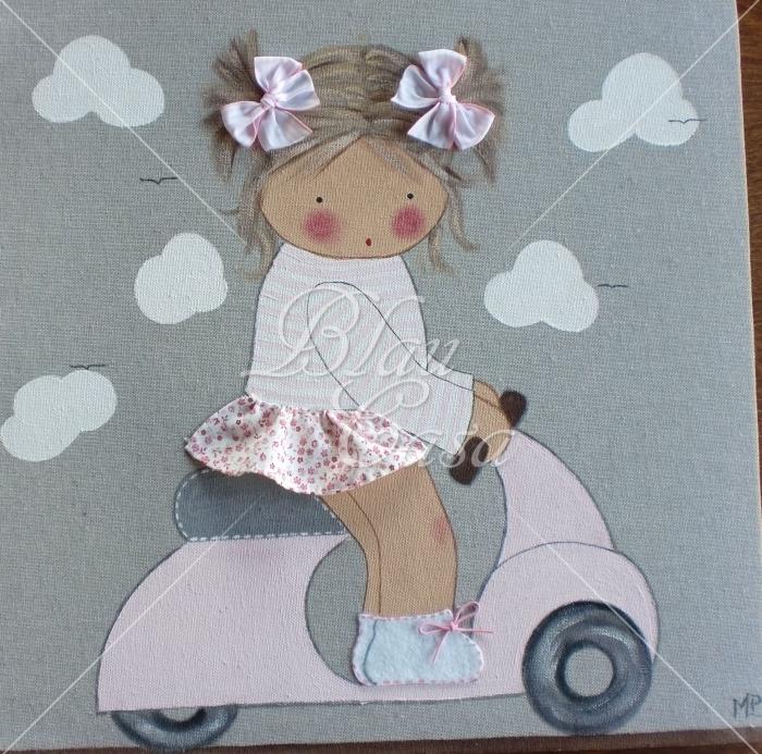 Blaucasa | Cuadros infantiles personalizados, Lienzos, Siluetas, Placas, Percheros