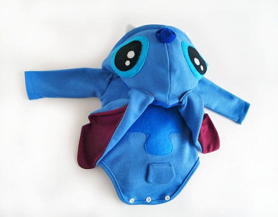 Baby Shower Sitch Lilo and Stitch Onesie Costume newborn 0-3M