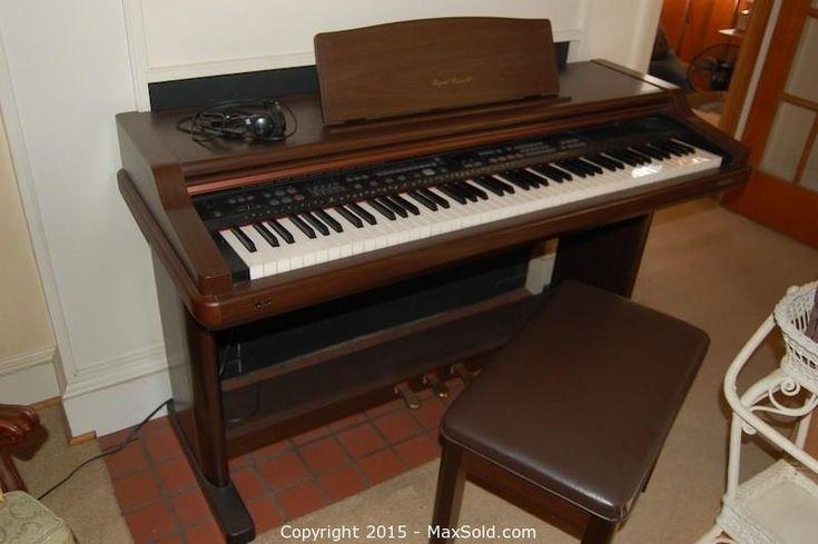 MaxSold - Auction: Arlington Estate Online Auction - Technics Digital Ensemble 88 Key Piano