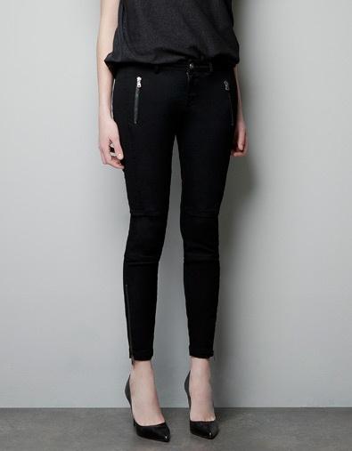 Classy black trousers - Woman - ZARA Canada.