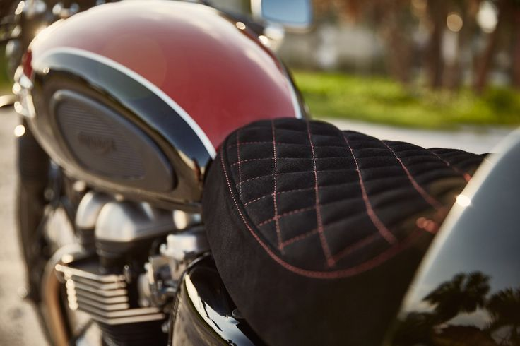 Jason Paul Michaels Triumph Thruxton 900 CR — Iron & Air Magazine