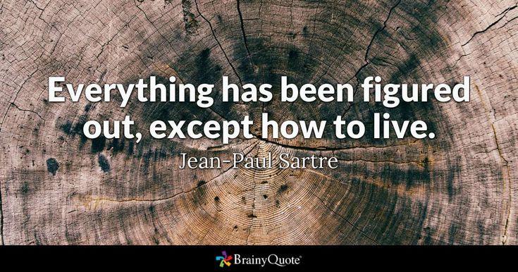 Best 25+ Jean Paul Sartre Ideas On Pinterest