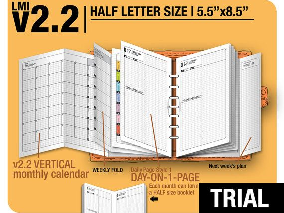 Trial HALF size v2.2 w ds1 do1p Half Letter April to by DIYfish
