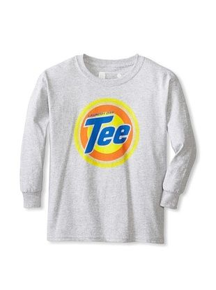 67% OFF Little Dilascia Kid's Laundry Day Long Sleeve Tee (Grey)