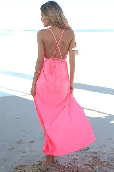 Neon Colourstamp Maxi | SABO SKIRT