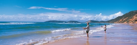 Queensland bucket list | 36. Pitch a tent behind the sand dunes at Double Island Point.