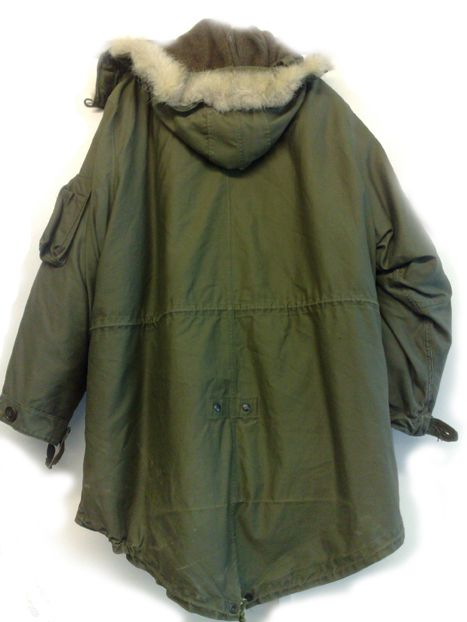 When I got mine I used to sleep in it as it was designed to. It was 1984/5. I was 16.  M-48, M-1948 Fishtail Parka,