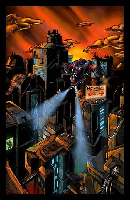 Bloodlust 1. szám, 8. képregényoldal