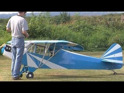 Epic RC Plane giant scale Electric 50% Scale Clip Wing Cub   electric rc...