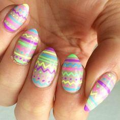 Gel Pencil Nail Art - #gelpencil #nailart #nails #nailpolish #piggieluv #colorfulnails - bellashoot.com