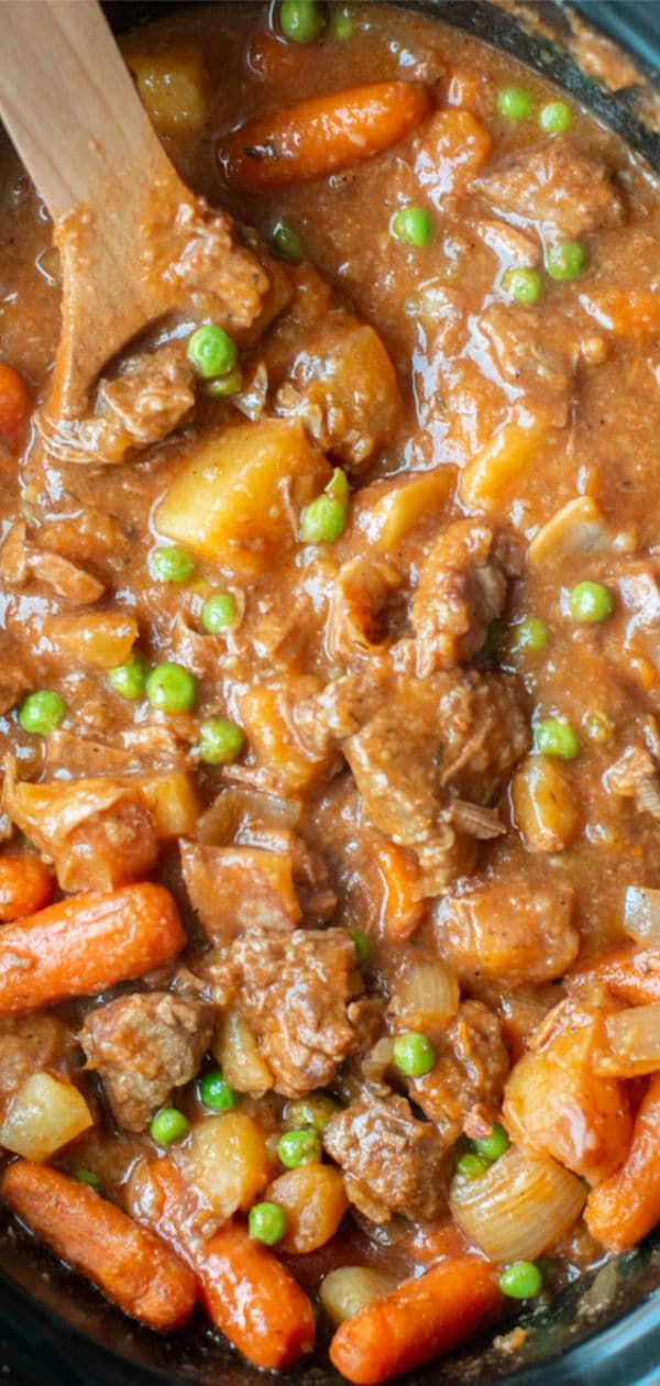 Slow Cooker Beef Stew The Magical Slow Cooker Recipe Stew Meat Recipes Slow Cooker Beef Stew Beef Stew Recipe