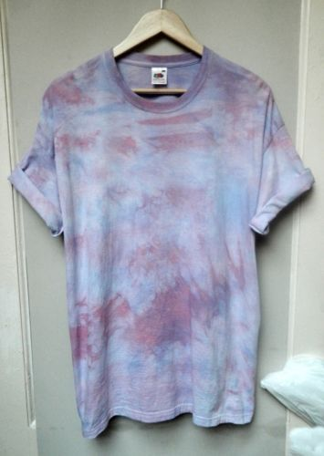 Tie-Dye-Grunge-boyfriend-oversized-acid-ombre-marble-hipster-scrunch-T-shirt