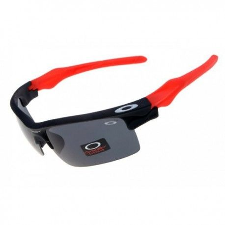 $18.00 best fake oakleys,Oakleys fast jacket black with red sunglasses  http://