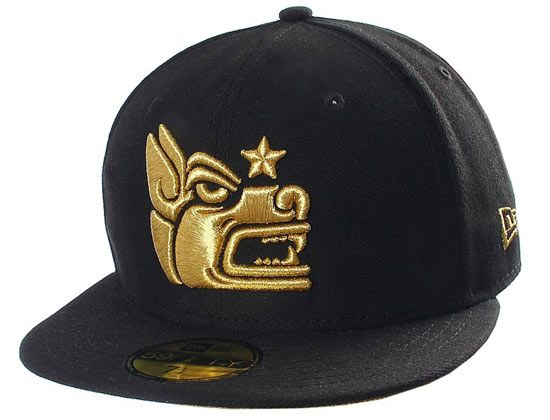 Xolos 59fifty Official Champion Gold #59Fifty Fitted Cap Club Tijuana Xoloitzcuintles de Caliente, most commonly known as Xolos de Tijuana, or Xolos, are a professional football club. The team competes in the MX League. The Xolos 59Fifty Xolos Official Champion Gold features the teams alternative logo in Metatllic Gold stitching. One the wearers's right side is a commemorative patch for the 2012 Apertura. A Caliente script logo hit is on the back also in Metallic Gold. #NewEra