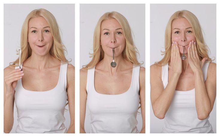 Чтобы похудело лицо зарядка