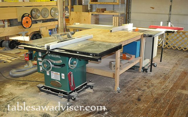 """Best four Hybrid Table Saws Comparison & Reviews 2017: Grizzly G0715P Polar Bear Series Hybrid Table Saw with Riving Knife, 10-Inch. 2. Woodtek 159665, Machiner Saws, 10"""" Lt 2hp Hybrid Table Saw, 52"""" Fence 3.Shop Fox W1824 Hybrid Table Saw with Extension Table 4.Shop Fox W1837 10"""" 2 hp Open-Stand Hybrid Table Saw"""