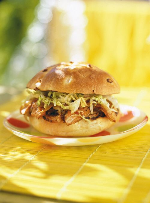 Burgers de porc barbecue