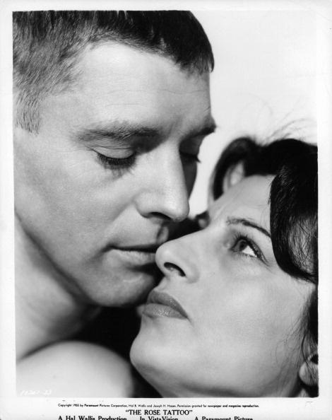 Burt Lancaster & Anna Magnani