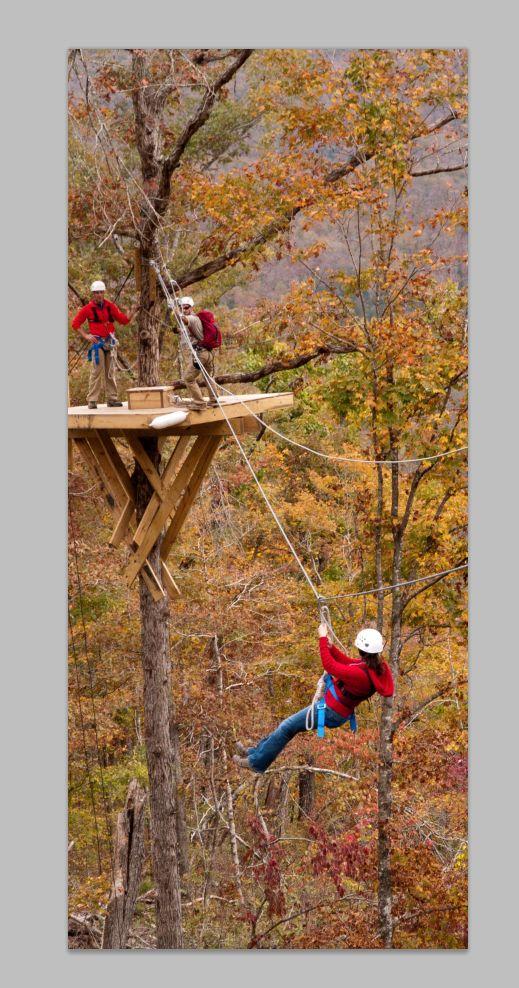 Zip Line Canopy Tour | Buffalo National River Cabins & Canoeing in Beautiful Ponca, Arkansas