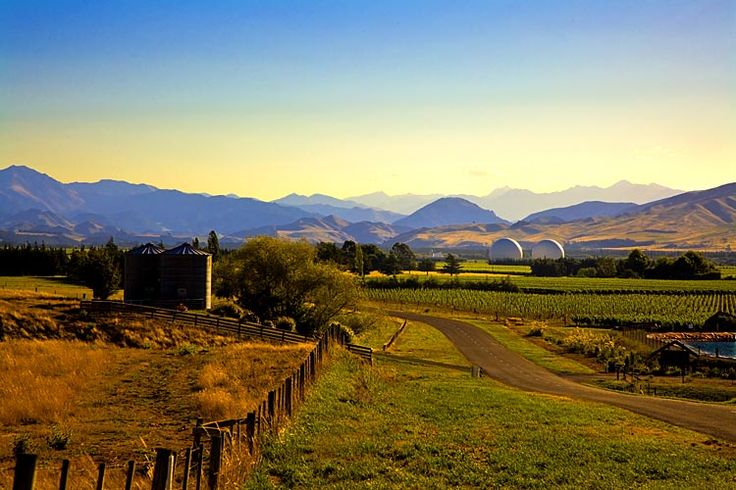 Waihopai, the spy domes,  see more at New Zealand Journeys app for iPad www.gopix.co.nz
