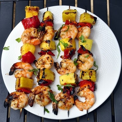 Chili Lime Shrimp Kabobs - Rock Recipes -The Best Food & Photos from my St. John's, Newfoundland Kitchen.