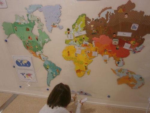 17 meilleures id es propos de planisph re monde sur pinterest planisph re du monde for Planisphere enfant