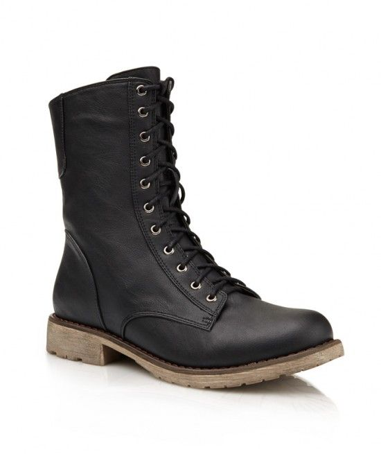 bought these LACE UP COMBAT BOOT - Shoes