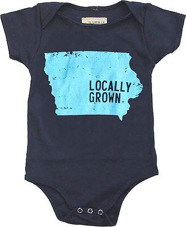 Iowa Onesie   Locally Grown Clothing Co.