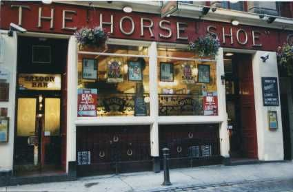 The horseshoe bar - Drury Street