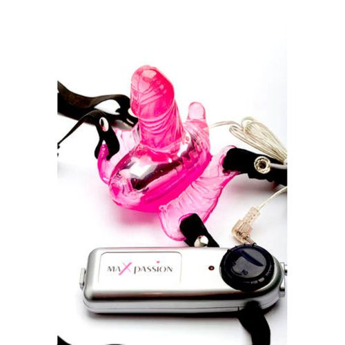 Maxpassion-Vibrating-Butterfly-Strap-On-Dildo-with-Harness-Adult-Sex-Toys