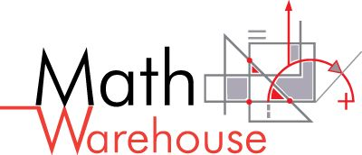 Math Warehouse...Practice math problems to increase math skills. Games and Worksheets to  make learning fun.  Practice by grade level and prepare for the next level.