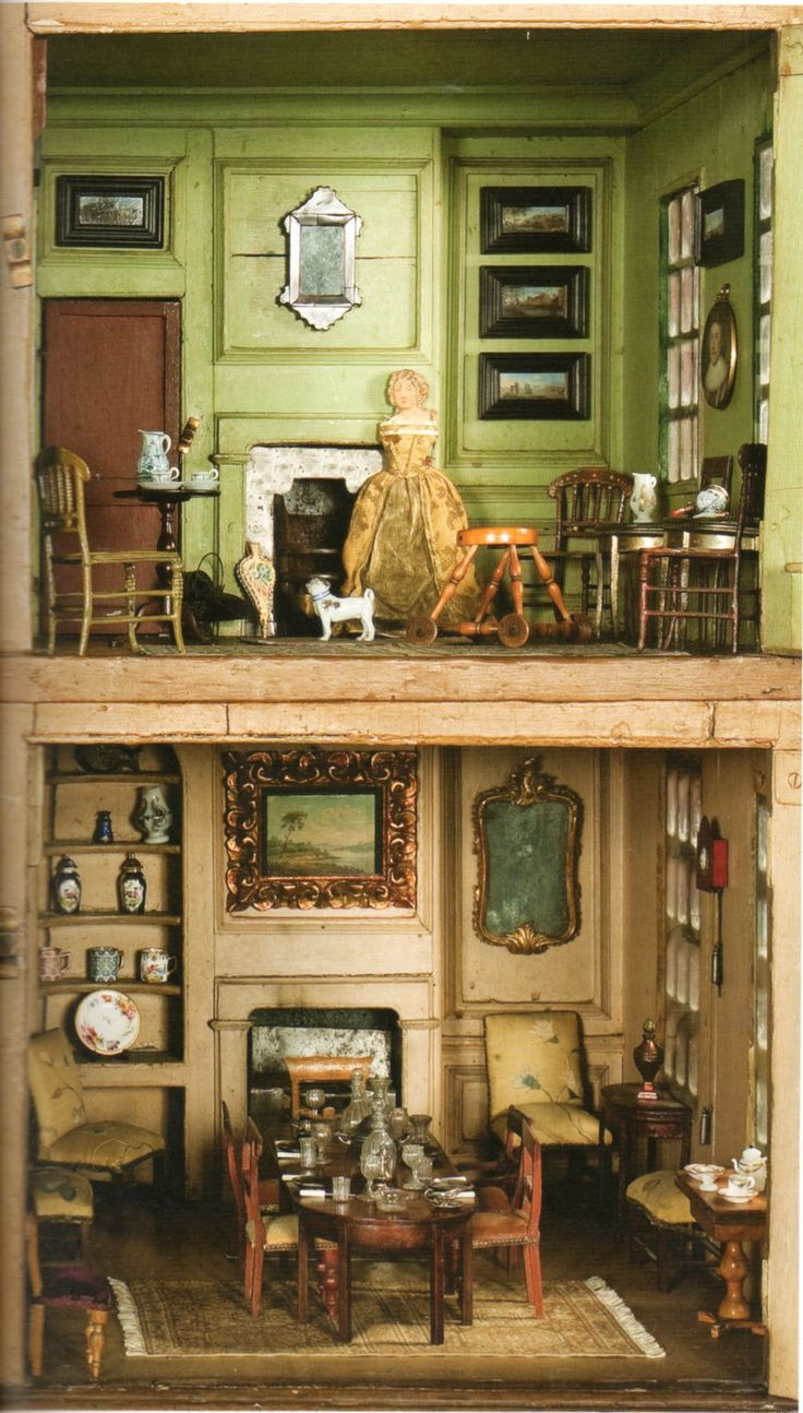 173 best Old English Dolls Houses. images on Pinterest | Auction ...