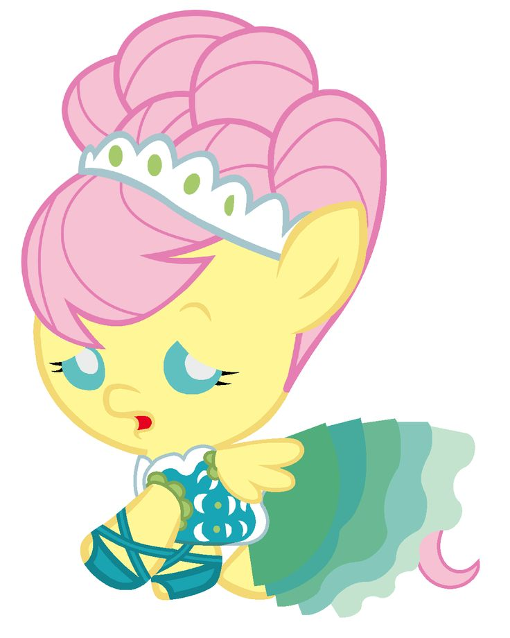 Baby Fluttershy, the Cutest Model In All Equestria by Beavernator.deviantart.com on @deviantART