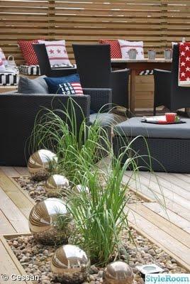 Interesting landscaping idea