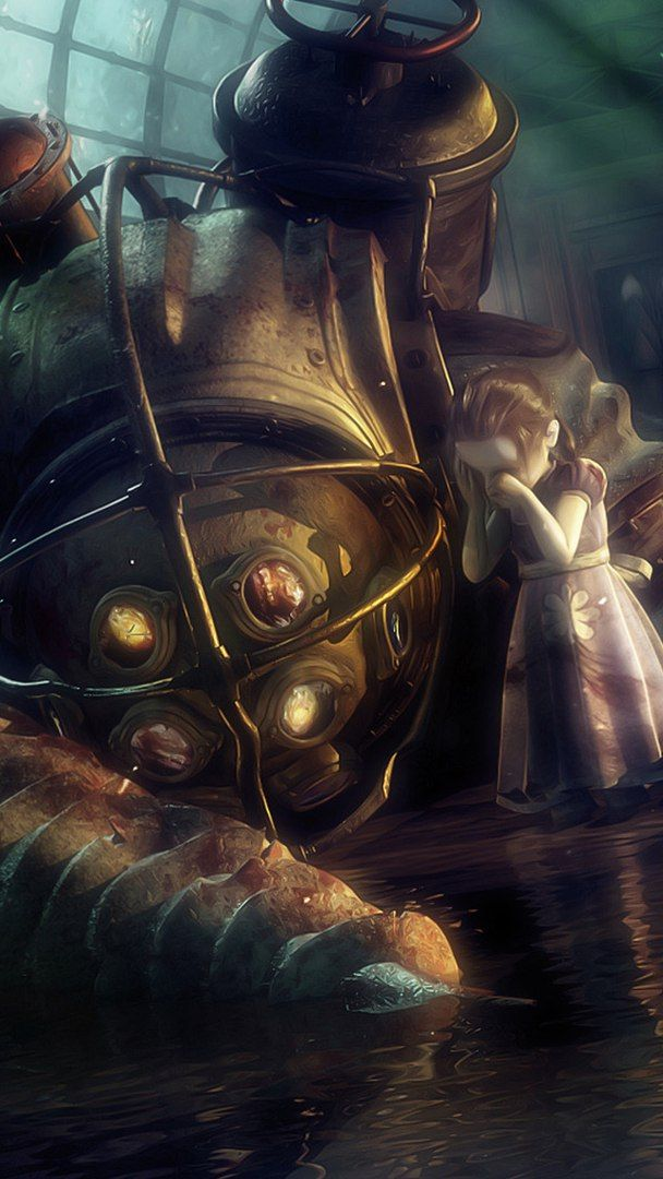 Big Daddy down - Bioshock