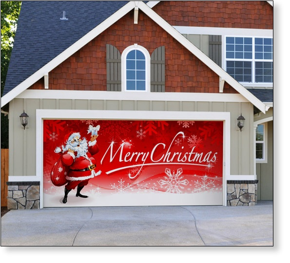 8 Best images about Garage Door Decor on Pinterest  ~ 042629_Christmas Decorating Ideas For Garage Doors