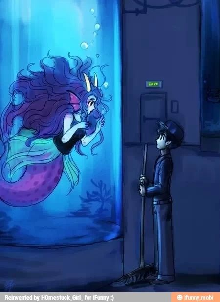 Aquariumstuck I want to cosplay this I wish I was better ...
