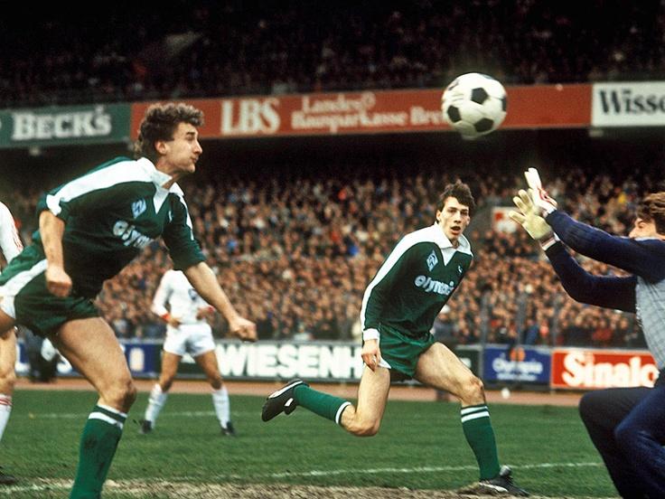 1983, Völler & Neubarth, Werder/ HSV
