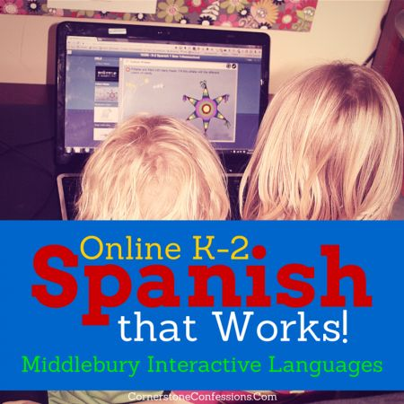 Online K-2 Spanish Program That Works!--Middlebury Interactive Languages #spanish #onlineeducation