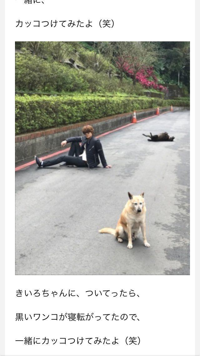 宮野真守のセンス絶妙すぎるwww犬と一緒可愛すぎるwww|話題の画像プラス