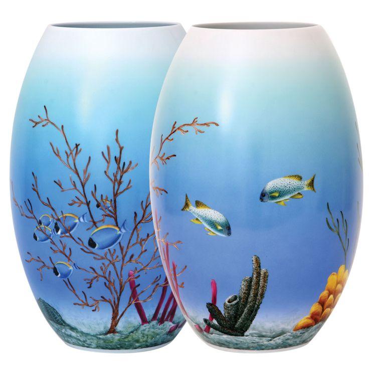 Sea Life Vase