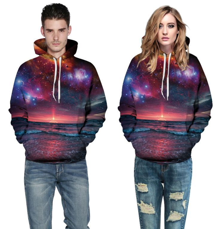 Cheap sweatshirt adventure time, Buy Quality hoodies women directly from China adventure time hoodie Suppliers: Plus Size 3XL Sweatshirt Adventure Time Hoodies Women Harajuku 3D Printing Landscape Sky Sunrise Definition Lovers Hooded