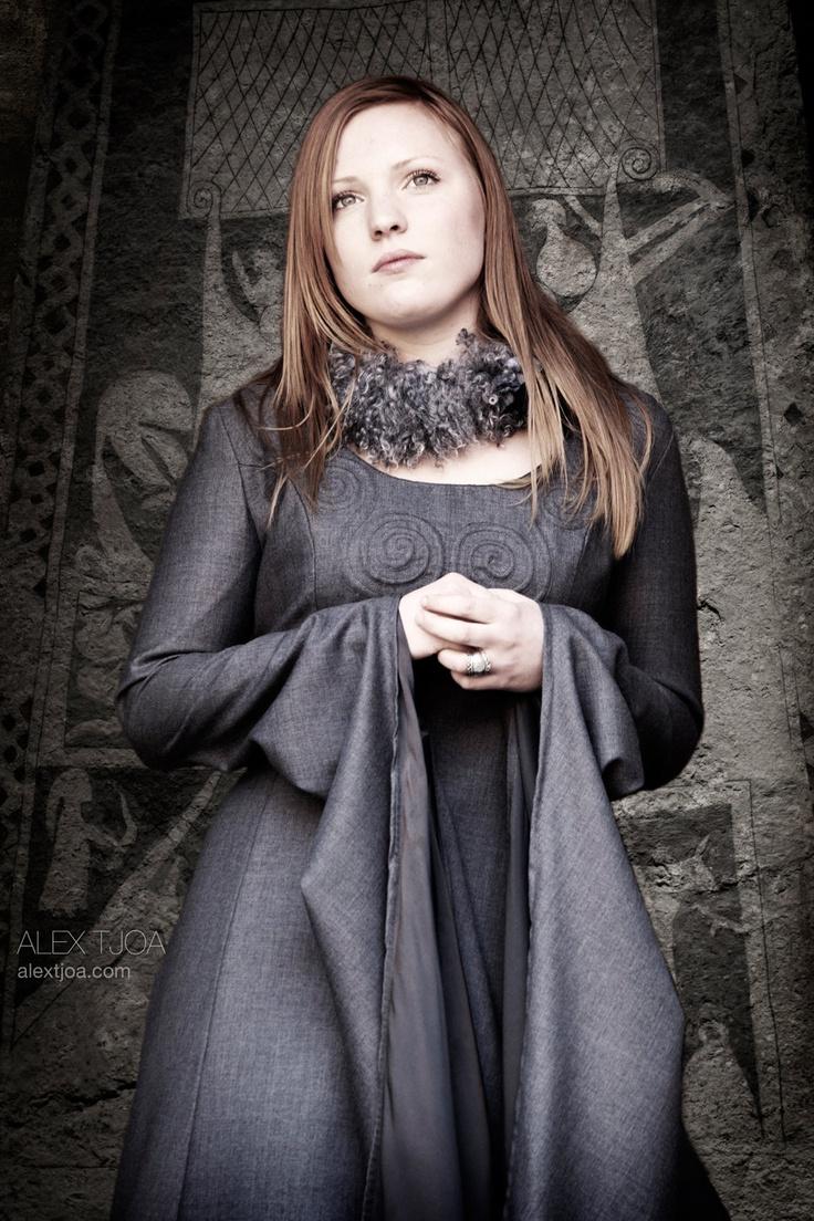 Viking Wedding dress Freja. Unique High Fashion