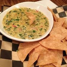 SPINACH and ARTICHOKE DIP  Mimi's Cafe Recipe   Serves 4   4 oz. Jack cheese, grated  2 oz. Swiss cheese, grated  8 oz. Parmesan cheese,...