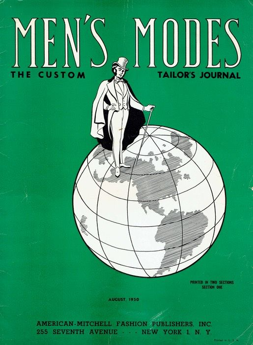 90 best e books for historical fashion sewing research images on mens modes the custom tailors journal august 1950 from mrsdepew fandeluxe Choice Image