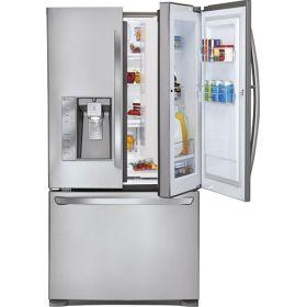 This is my dream refrigerator.: Doorindoor, French By, French Doors Refrigerators, Stainlesssteel, French Door Refrigerator, Doors French, Products, Stainless Steel, Doors In Doors
