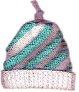 Swirled ski hat from Craft Yarn Council